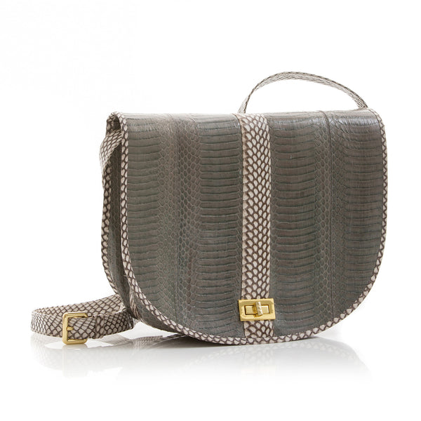 Saddle Bag SOMEE Cloudy Grey Cobra