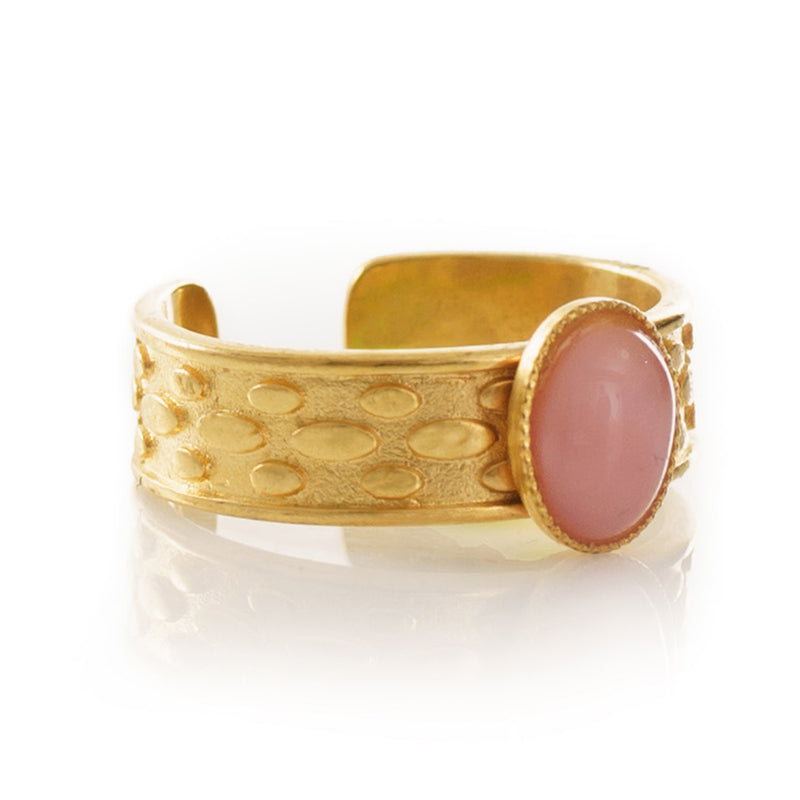 TANIS adjustable ring pink