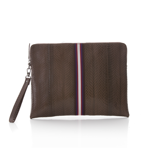 URBAD Clutch Brown Cobra  N5