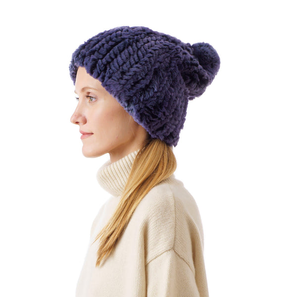 Verbier night blue Knitted Hat