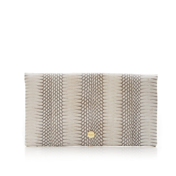 Clutch Bag VAVAVOOM Silver Cobra