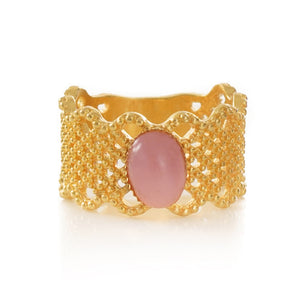 ZAELIS Lace Ring Pink