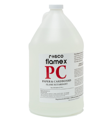 ROSCO FLAMEX PC-PAPER & CARDBOARD - GALLON