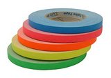 Fluorescent Orange Spike Tape 1/2""