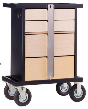 Wood Work Box Cart - SB-01