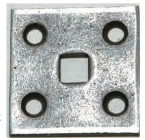 SQUARE HOLE BOLT PLATE