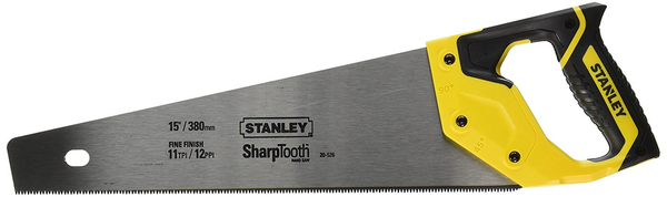 "STANLEY 20"" / 12 TPI FINISH SAW"