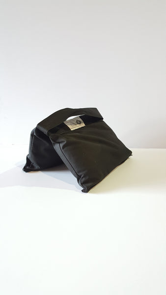 SADDLE SANDBAG-BLACK APPOX 25LBS