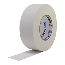 White Pro Gaffers Tape 2""