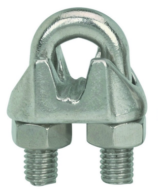 Wire Rope Clamps - Galvanized 1/4""