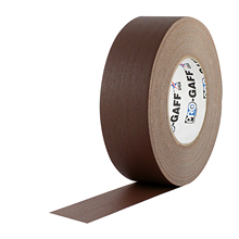 "2""X55YD BROWN PRO GAFFERS TAPE"