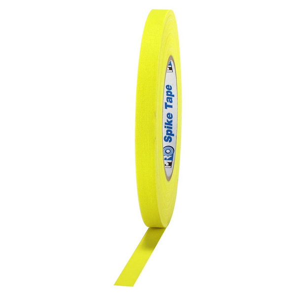 Yellow Spike Tape 1/2""