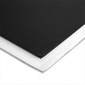 FOAM CORE 4X8 BLACK/WHITE 3/16""