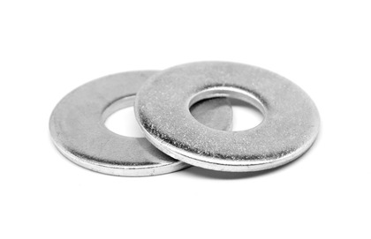 Grade 8 Hardened USS Flat Washers, Zinc Yellow