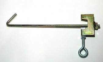 "ADJUSTABLE BEAM CLAMP 2""-6"""