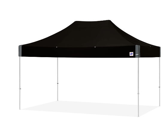 ECLIPSE II EZ UP  10X15 ALUM FRAME, BLACK CANOPY W/COVER BAG
