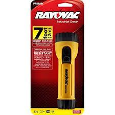 RAYOVAC 2D FLASHLIGHT (YELLOW/BLACK)