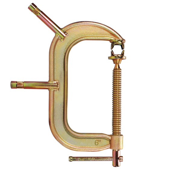"C CLAMP W/ 6"" BABY PIN"
