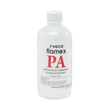 ROSCO FLAMEX PA PAINT ADDITIVE- CASE OF 12 x 8OZ BOTTLES