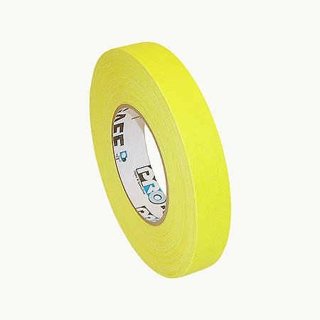 Fluorescent Yellow Pro Gaffer's Tape
