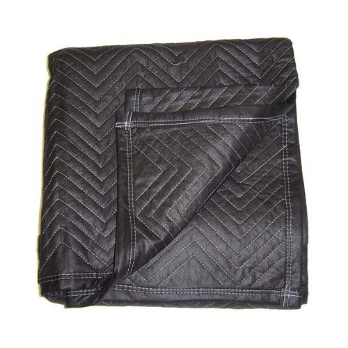 72 X 80 MOVING BLANKETS BLACK ON BLACK (FURNITURE BLANKET)