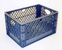 Full Milk Crate