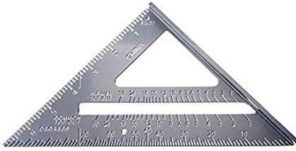 TRIANGLE SQUARE ALUMINUM -  9""
