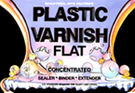 PLASTIC VARNISH FLAT 1GAL