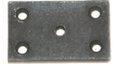 THREADED BOLT PLATE #2045