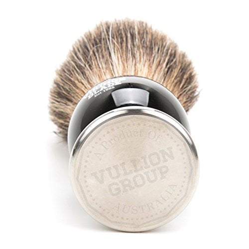 Dark Stallion Luxury Badger Brush