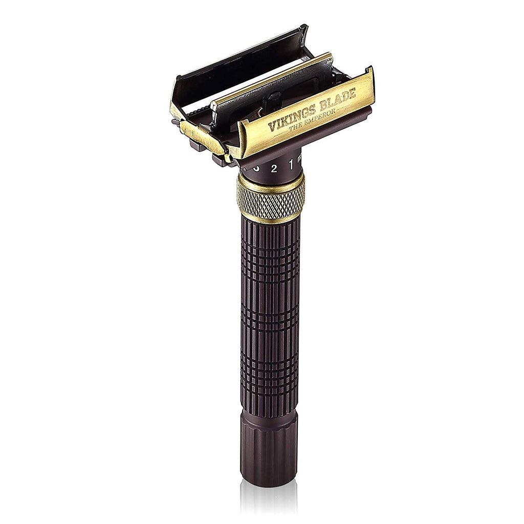 The Emperor AUGUSTUS Adjustable Safety Razor