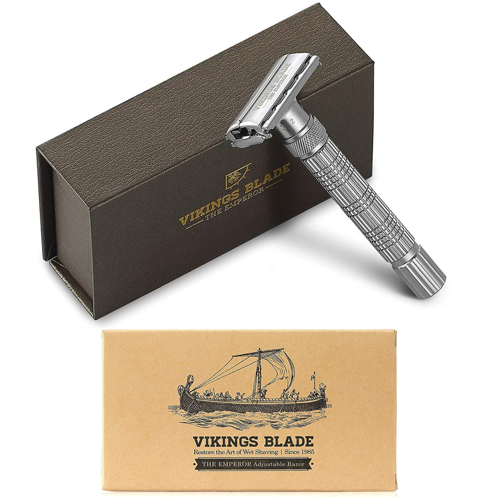 The Emperor Adjustable Safety Razor