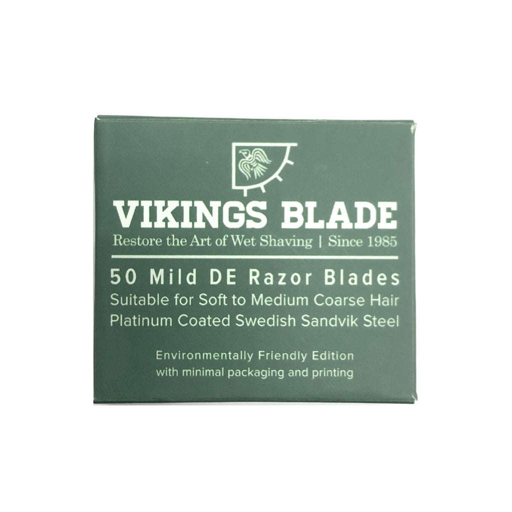 """Mild"" Swedish Steel Double Edge Razor Blades"
