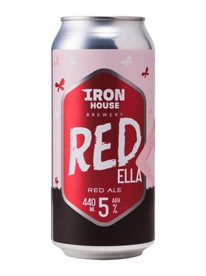 Iron House Brewery Red Ella - Red Ale