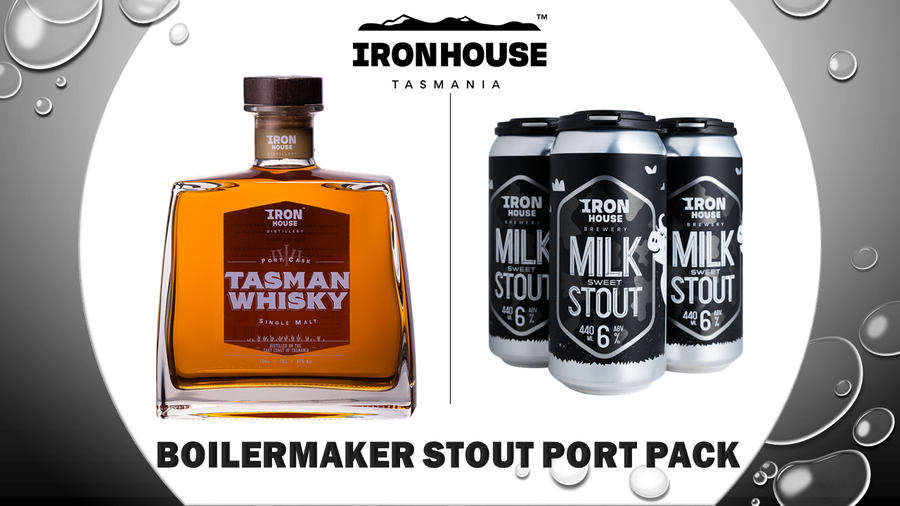 Ironhouse Boilermaker - Stout Port Pack