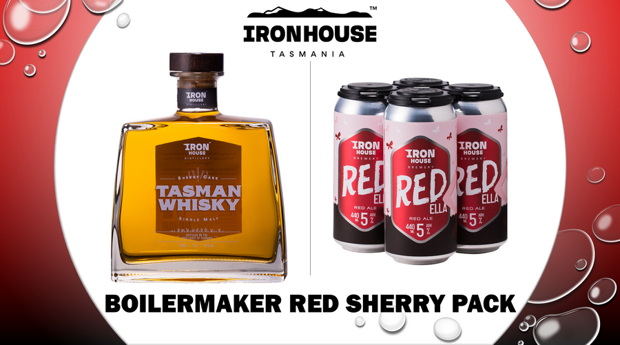 Ironhouse Boilermaker - Red Sherry Pack