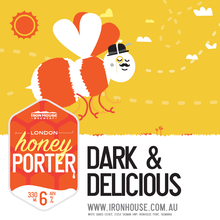 Iron House Brewery London Honey Porter
