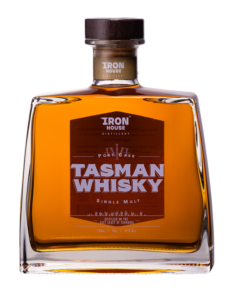 TASMAN WHISKY - Port Cask - Tasmanian Single Malt