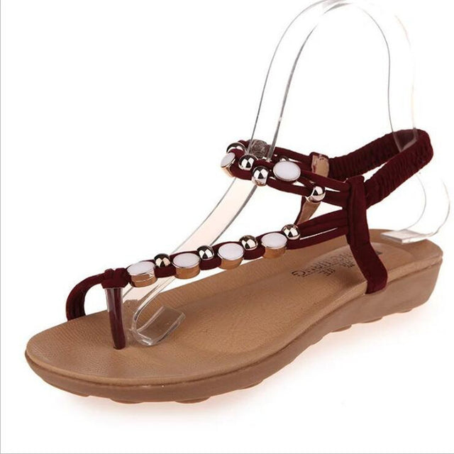 Bohemian Bottomed Roman Sandals