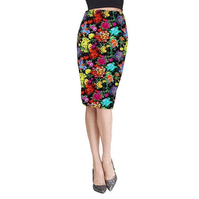 High Waist Pencil Skirts 4 Different Designs
