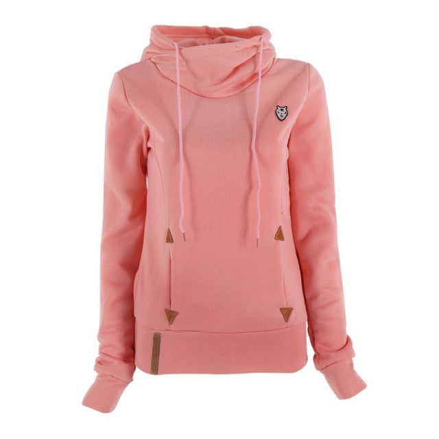 Casual Long Sleeve Hoodies