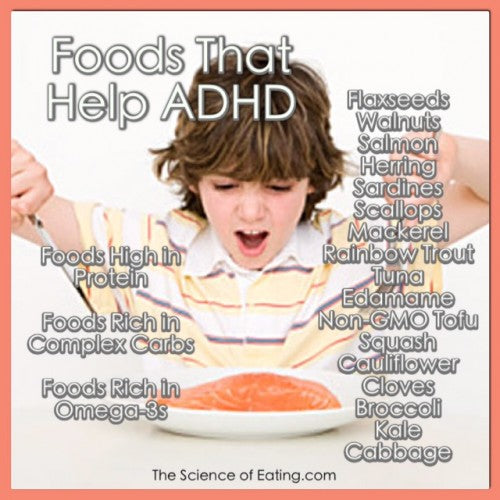 how can diet help adhd