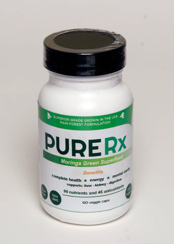 PURERx Moringa King of Superfoods