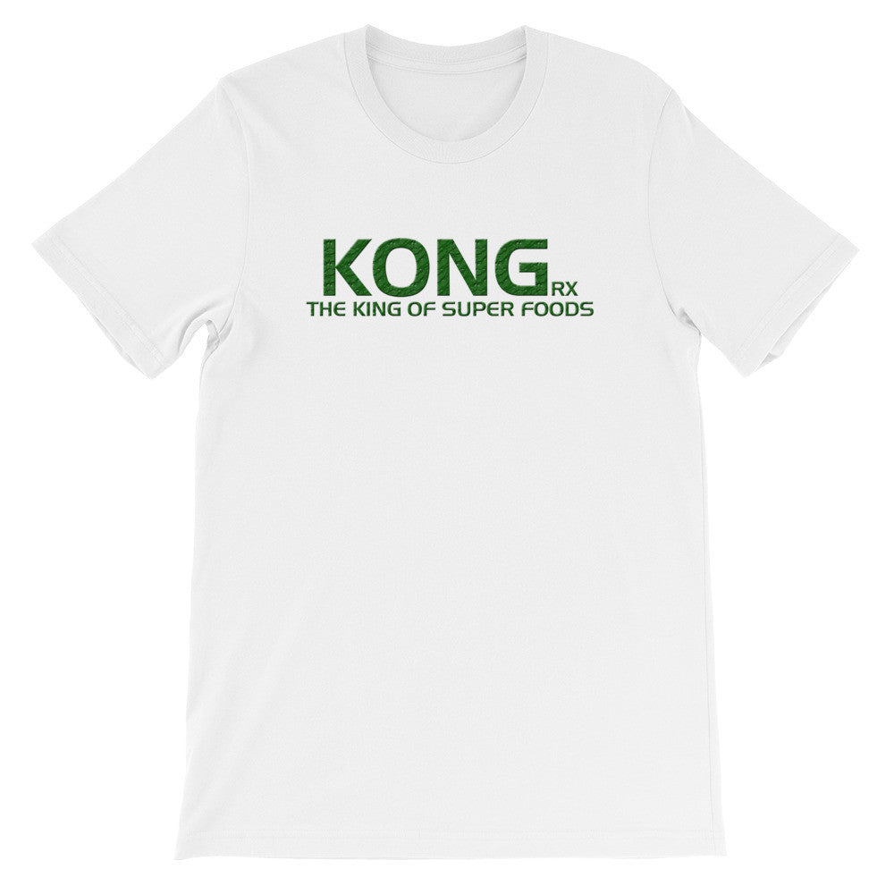 KONG King of Superfoods Unisex short sleeve t-shirt