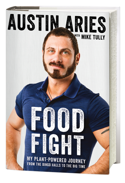 Food Fight Hardcover Book