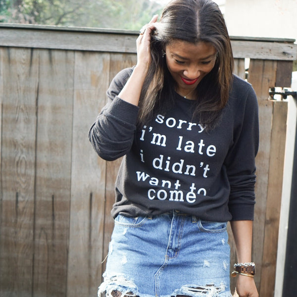 How to Rock a Graphic Tee/Sweatshirt
