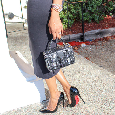 Pencil Skirt and Red Bottoms
