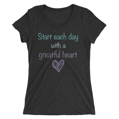 Women's T-Shirt - Greatful Heart