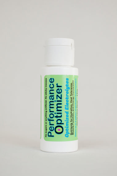 Performance Optimizer Concentrate - Subtle Energy Enhanced Electrolyte Formula