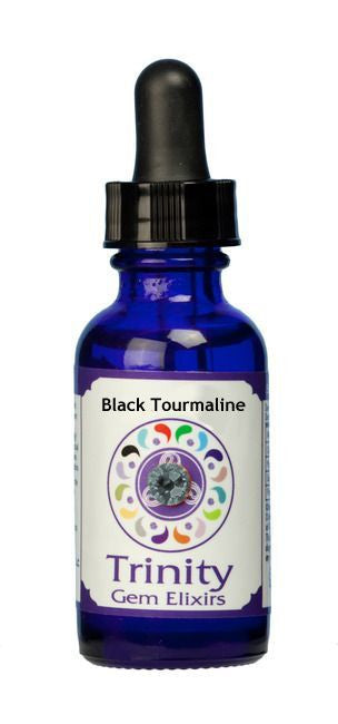 Trinity Gem Elixir - Black Tourmaline (1 oz.)